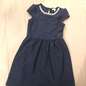 Size 12 Navy Blue Dress